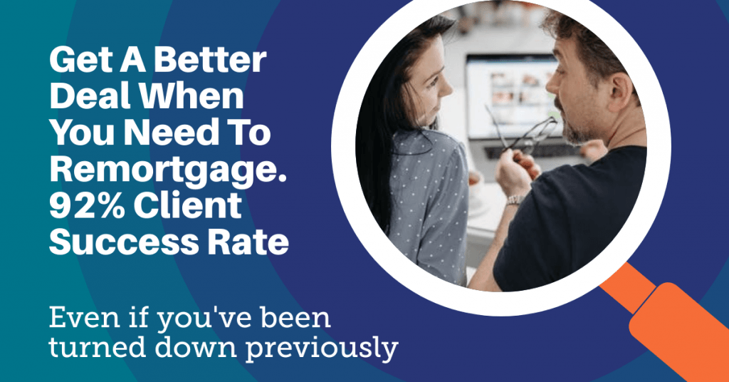 remortgage to pay off debts
