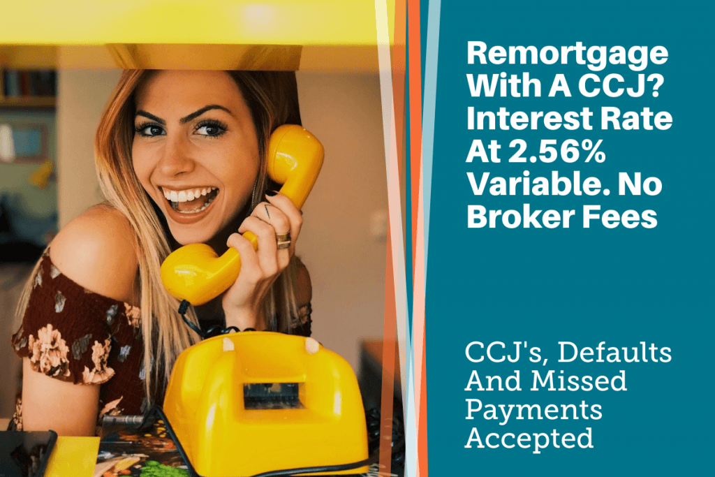 remortgage with a ccj